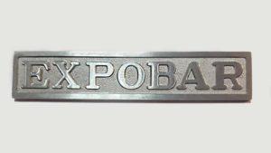 Letreros y placas corporativas Acabado Superficial Metal Pintado Epoxi y Pulido Granallado