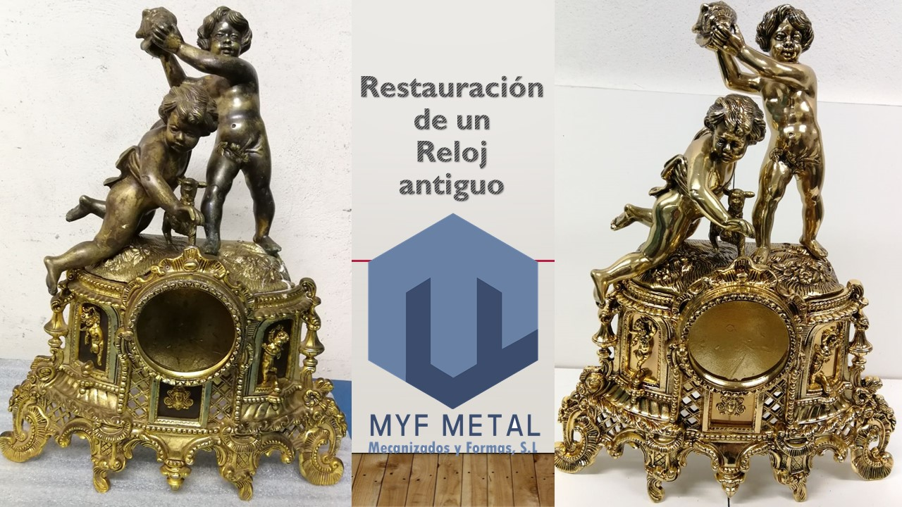 Restauración de un Reloj Antiguo en Mecanizados y Formas_MyF